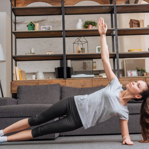 Easy workouts you can do at home
